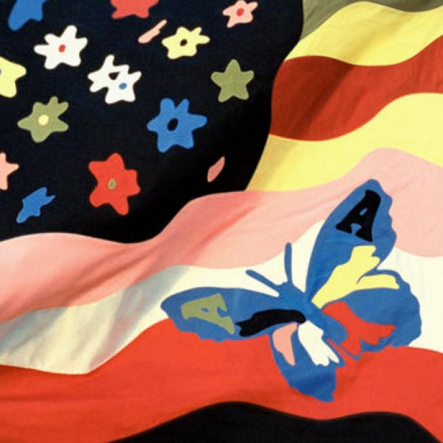 Jaquette de l'album Wildflowers du groupe the Avalanches