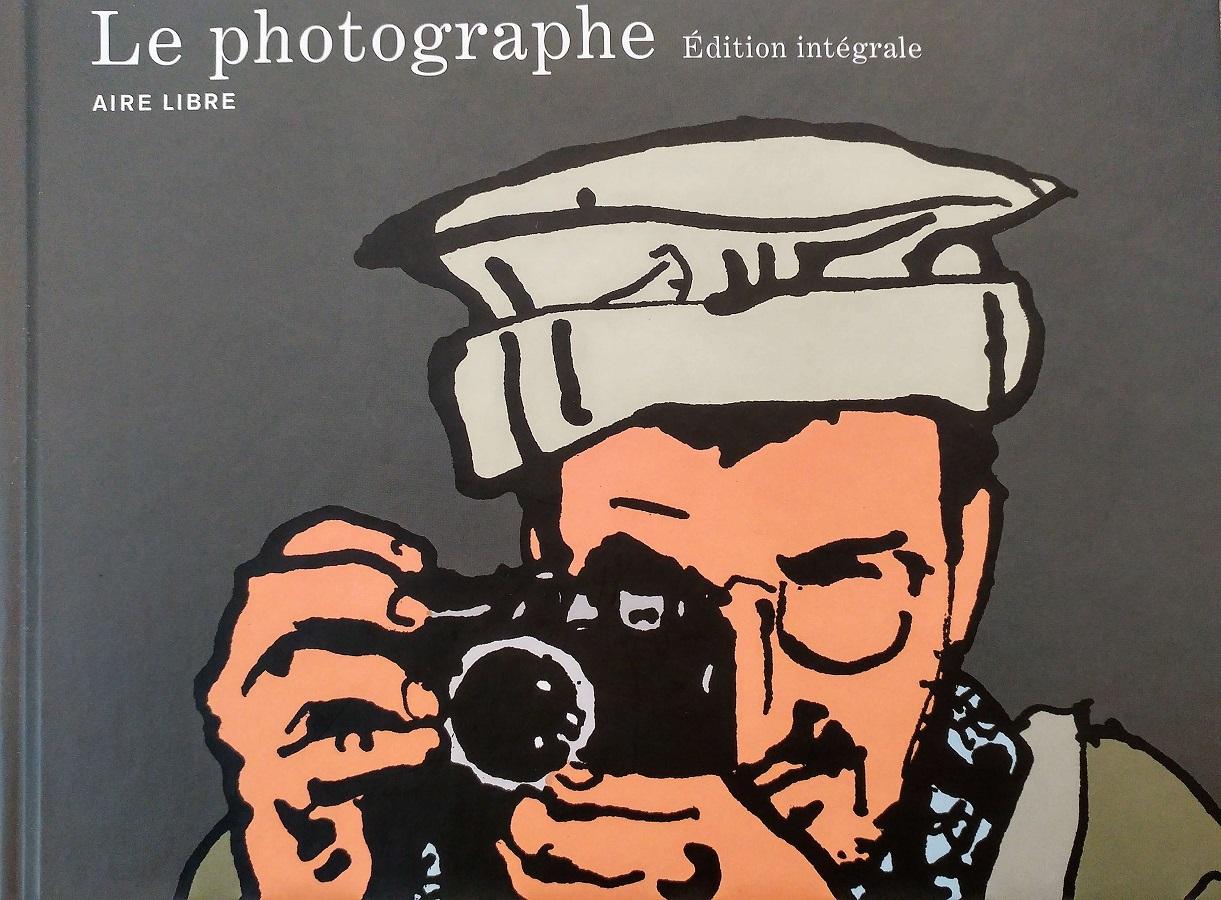 Couverture de la bande dessinée Le photographe
