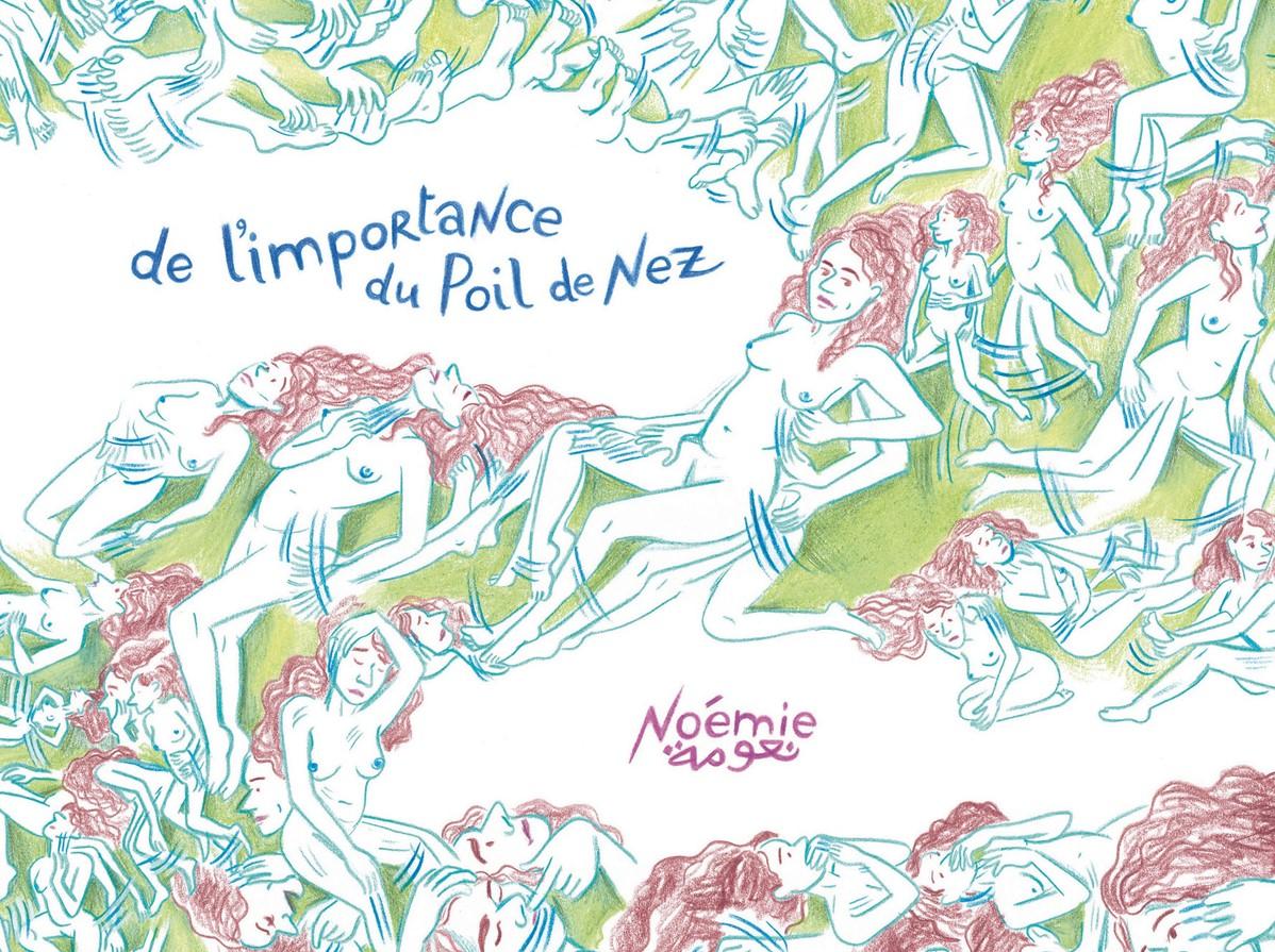Couverture de la bande dessinée De l'importance du poil de nez